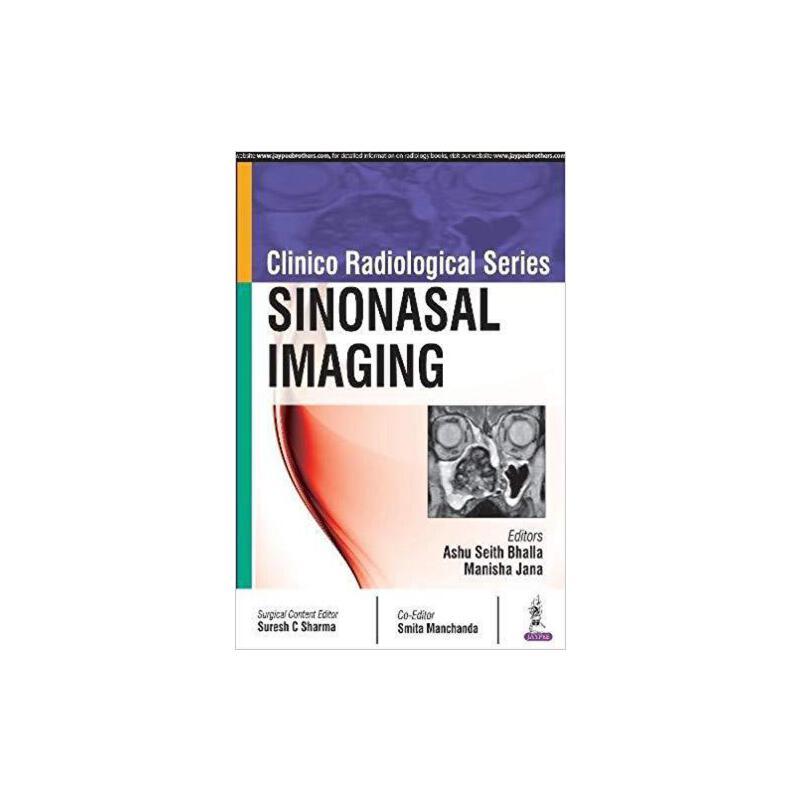 【预订】Clinico-Radiological Series Sinonasal Imaging 9789352701711 美国库房发货,通常付款后3-5周到货!