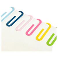 巨门文具 GS08-0010 铁质回形针彩色书签2入 创意书签
