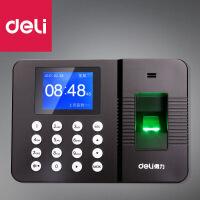 得力3960Z免软件安装指纹识别真人语音功能 指纹考勤机