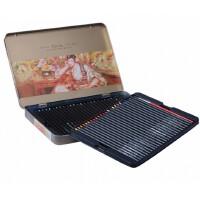 全国包邮马可雷诺阿3220�\木杆彩色铅笔24色 36色 48色水溶彩铅 铁盒套装