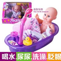 洗澡玩具婴儿童喷水上澡盆套装宝宝花洒戏水龙头小男女孩黄鸭