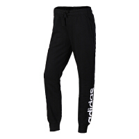 Adidas阿迪达斯 女裤 运动休闲透气收口长裤 S97154 现