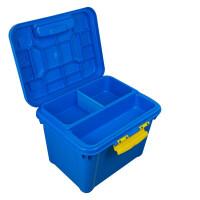 汽车储物箱后备箱塑料 车载置物箱 车用收纳箱多功能整理箱