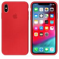 苹果xr手机壳液态硅胶黑iphone xs max手机套x全包xsmax男新款iponex超火保护套