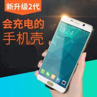优品 三星A8+ 2018背夹电池A800J手机壳充电宝S大容量a8plus移动电源轻薄无线充电器 A8+ 2018/