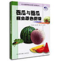 西瓜与甜瓜病虫原色图谱――无公害蔬菜病虫鉴别与治理丛书
