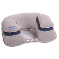 充气u型枕飞机旅行枕护颈枕汽车用u形枕护脖子睡觉靠枕头吹气便携