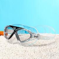 2018新款大框男女通用高清透视游泳电镀防雾防水超舒适泳镜