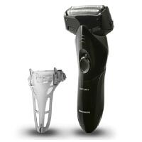 松下电动剃须刀ES-SL10 3刀头 全身水洗 干电池式