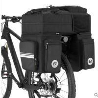 旅行户外包大容量尾背包自行车包驮包后货架包防水山地车川藏长途骑行装备