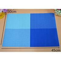 学生餐垫长方形PVC餐垫 防水塑料餐桌垫隔热垫 碗垫盘垫
