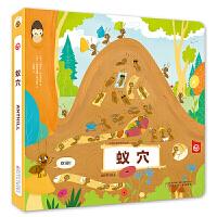【现货】 动物王国创意形状书 蚁穴  9787531576587