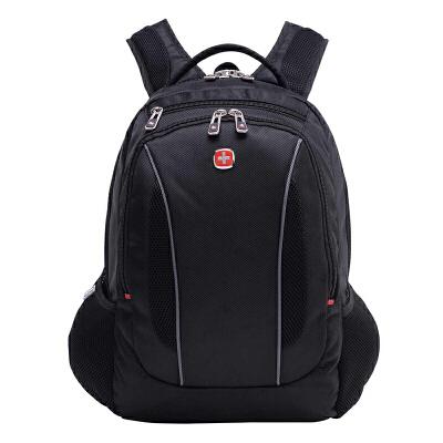瑞士军刀 双肩包 男士时尚经典14寸电脑包中学生书包背包SA618