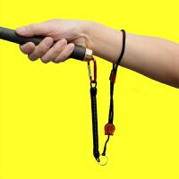 日式竞技失手绳 钓鱼用品渔具装备钓鱼工具 失手绳 腕式弹簧伸缩