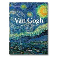 梵高画册进口原版Van Gogh艺术画册 临摹作品集星空油画向日葵作品印象派至爱梵高传 TASCHEN画册