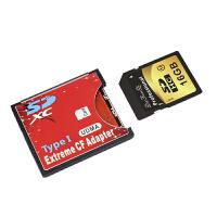 【支持礼品卡支付】DaFonQi SD转CF卡套sd-cf卡托支持wifi SD卡高速8g16g32g64g128g存储卡单反相机无线内存卡SDHC Class10无线传输尼康佳能sd卡套