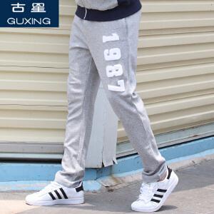 古星秋季新款男士运动裤休闲裤直筒潮卫裤青年韩版舒适长裤子