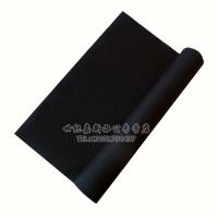 黑色毛毯120*80厘米 书画毛毡 画毡 书法绘画用具 黑色书画毡书法绘画毛毡布画垫毛笔字