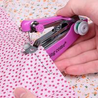 迷你小型手持缝纫机简易家用多功能袖珍手工手动微型便携式裁缝机 2