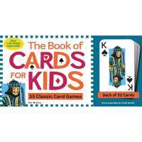 The Book of Cards for Kids 儿童纸牌书 35个经典纸牌游戏 含一副纸牌