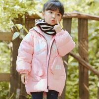 花样童依 2018秋冬新款儿童女童中小童韩版面包服羽绒服棉衣棉袄外套