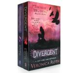【顺丰速运】原版Divergent 分歧者 叛乱者Veronica Roth两本套装电影封面小说