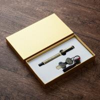 复古u盘16g钢笔套装创意中国风礼物圣诞节日公司年会礼品定制logo
