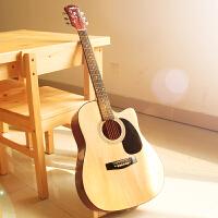 初学者新手入门练习吉它41寸民谣吉他男女木吉他