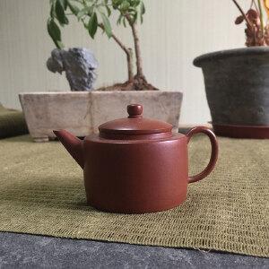 台湾摹古 朱泥平盖壶