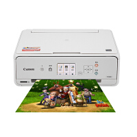 TS5080打印机 棒棒糖糯米纸手机照片 抖音 白色