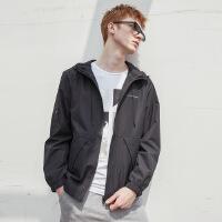 【1件4折到手价:103.6】美特斯邦威夹克男秋装新款男士潮流连帽印花韩版青少年外套