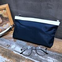 男士手包2018新款手提包手拿包时尚潮流韩版休闲手抓包男 2192-5猴子 发手包(6909的)