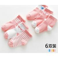 儿童袜子秋冬季女童中筒袜1-3-5岁7男童婴儿宝宝春夏薄款童袜xx