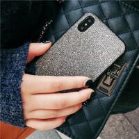 欧美奢华闪粉苹果x手机壳全包iphone8x软壳苹果10磨砂保护套新款