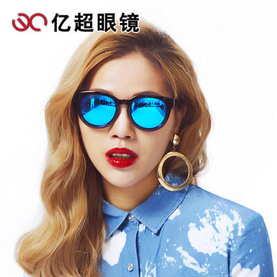 新款亿超太阳眼镜潮款墨镜 偏光太阳镜女开车眼睛司机 YC9703配镜免费加工,度数请下单备注或联系客服