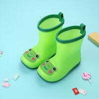 小童儿童雨鞋男童加绒宝宝雨靴防滑1-3婴幼公主可爱女童小孩水鞋