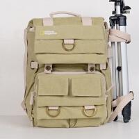 国家地理NG5160双肩摄影包男女休闲单反包背包防水帆布相机包