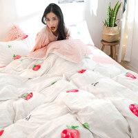 床上四件套公主风网红被套1.2床单人学生宿舍4三件套3