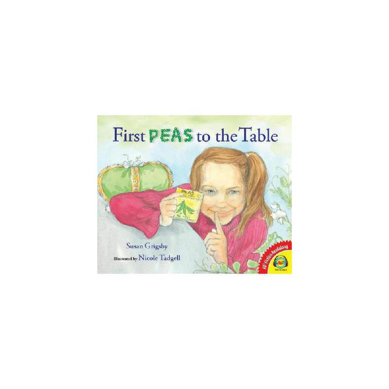【预订】First Peas to the Table 美国库房发货,通常付款后3-5周到货!
