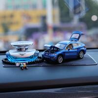 宝马X6仿真合金模型汽车摆件车载香水饰品除异味合金车模汽车用品