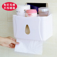 创意居家居用生活日用品实用小百货收纳神器卫生间纸巾盒装饰品 图片色