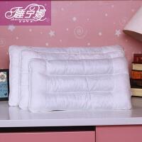 睡宁娜 儿童枕决明子乳胶枕儿童枕成长枕头 送纯棉枕套1个