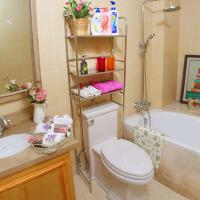 不锈钢收纳整理架洗衣机置物架 马桶置物架卫生间浴室厕所