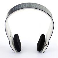 shockwave冲击波 SHB-901BH 蓝牙置麦可通话 有线无线双用耳机 亮黑色