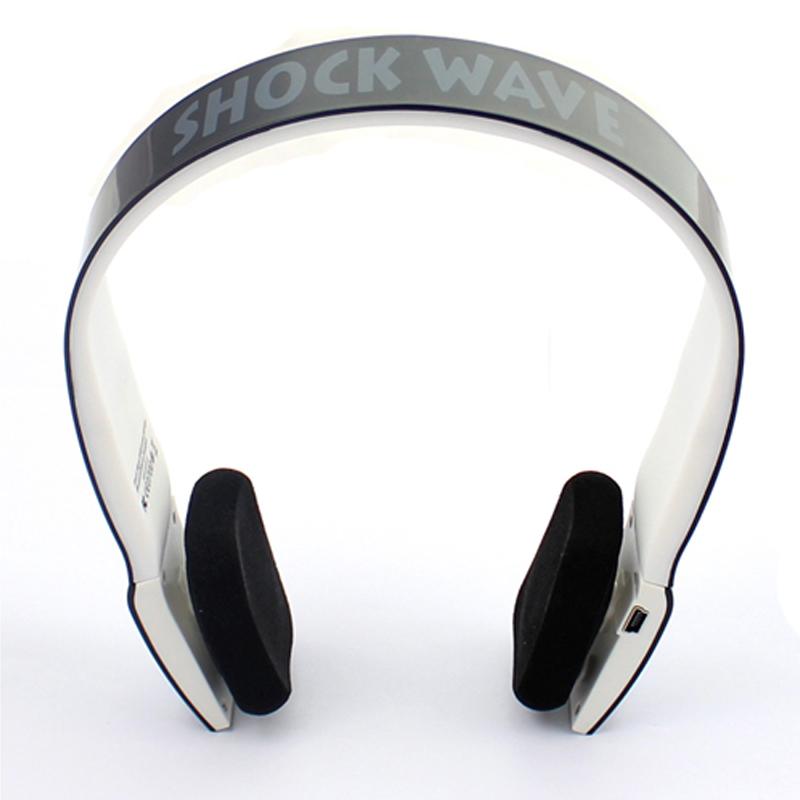 shockwave冲击波 SHB-901BH 蓝牙置麦可通话 有线无线双用耳机 亮黑色头戴式HiFi立体声内置麦可通话