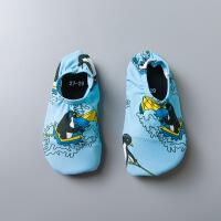 儿童沙滩鞋 宝宝软底赤足鞋浮潜游泳鞋防滑家居赤足贴肤软鞋