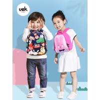 uek幼儿园儿童男童女孩宝宝1-3-5岁可爱卡通双肩背包潮小书包书包