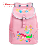 迪士尼商店 冰雪奇缘艾莎公主白雪公主个性双肩包印花学生书包