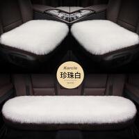 冬季汽�坐�|短毛�q小三件套方�|�o靠背通用座椅�|汽��妊b�用品