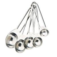 津熙优品jxsuperior烘培工具不锈钢带刻度量勺 刻度勺 小勺 计量调味工具5只装JX00018
